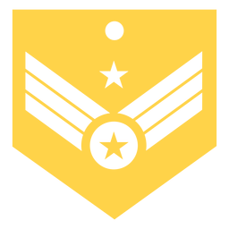 General major military rank silhouette