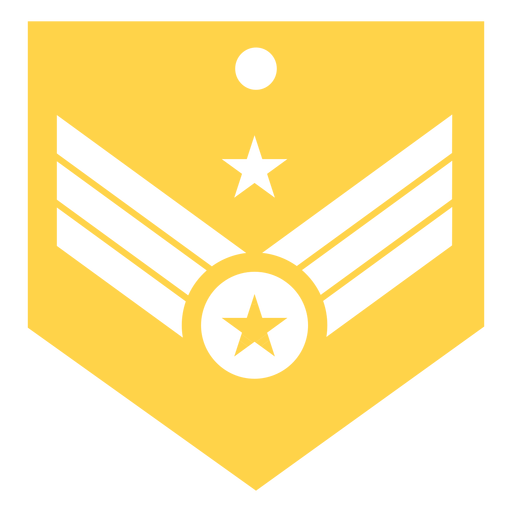 General major military rank silhouette Transparent PNG