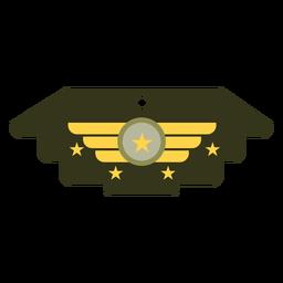 Icono de insignia militar general