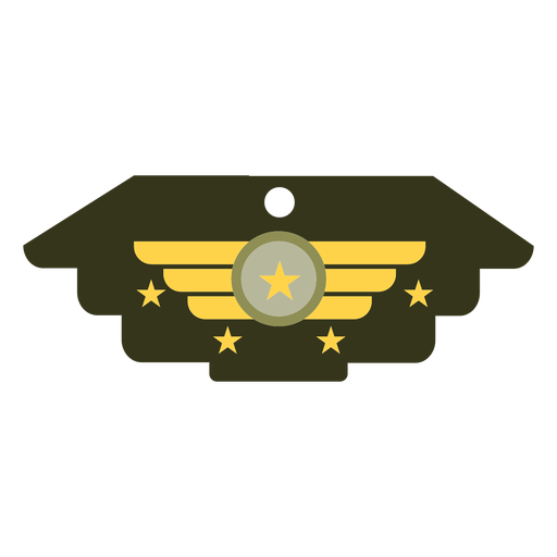 General military insignia icon Transparent PNG