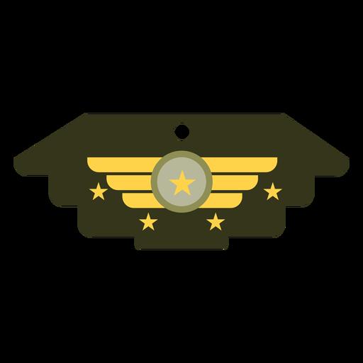 Icono de insignia militar general Transparent PNG