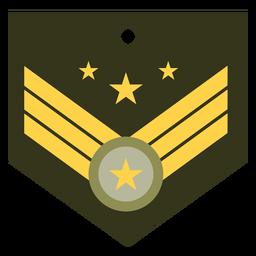 Icono de rango militar general