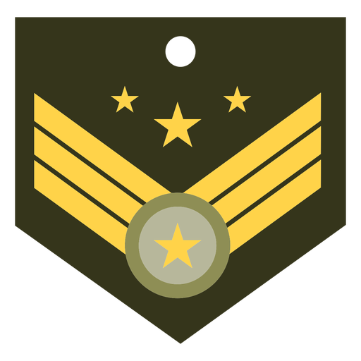 General military rank icon Transparent PNG