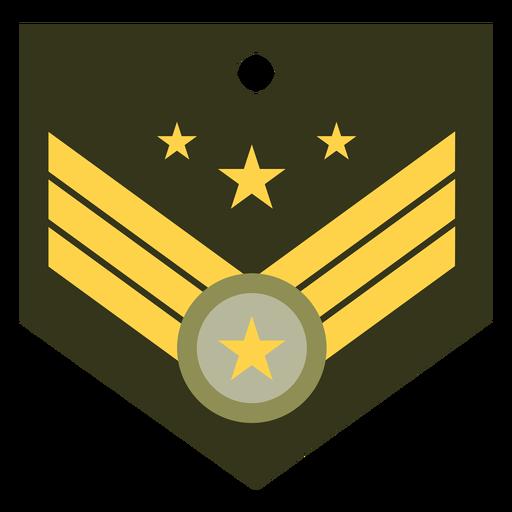Icono de rango militar general Transparent PNG