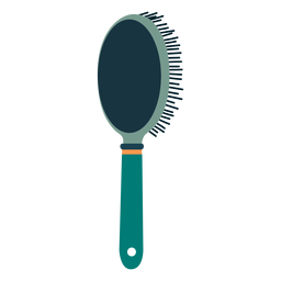 Hair brush rear view icon