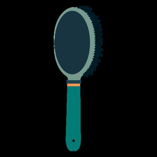 Hair brush rear view icon