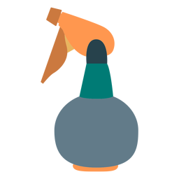 Hairdressing spray bottle icon