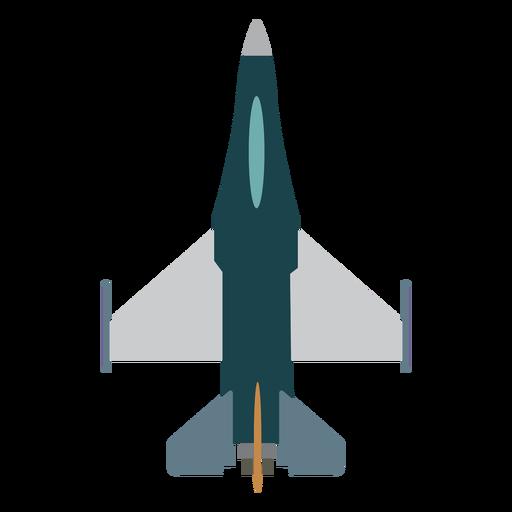 Icono de vista superior de aviones Hornet Transparent PNG