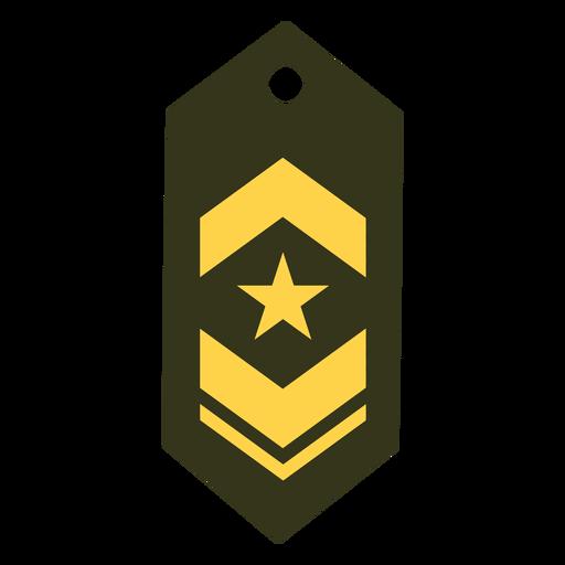 Teniente comandante icono de rango militar Transparent PNG