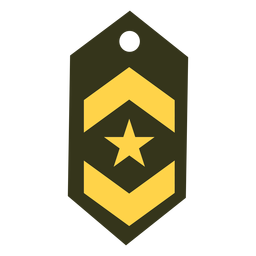 Lieutenant military rank icon