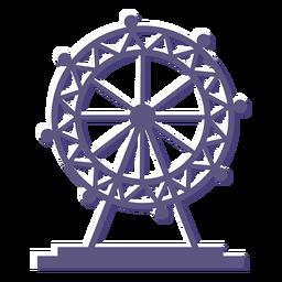Ícone de roda gigante de olho de Londres