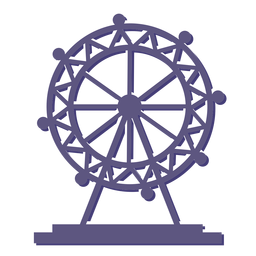 London eye ferris wheel icon