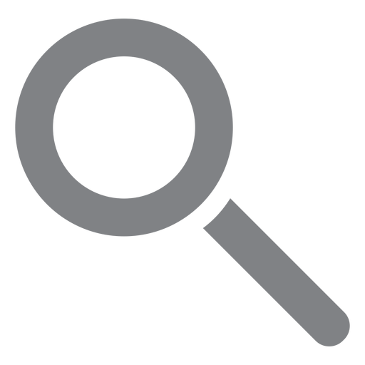 Magnifying glass flat icon school