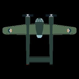 Elemento de design de aeronaves militares
