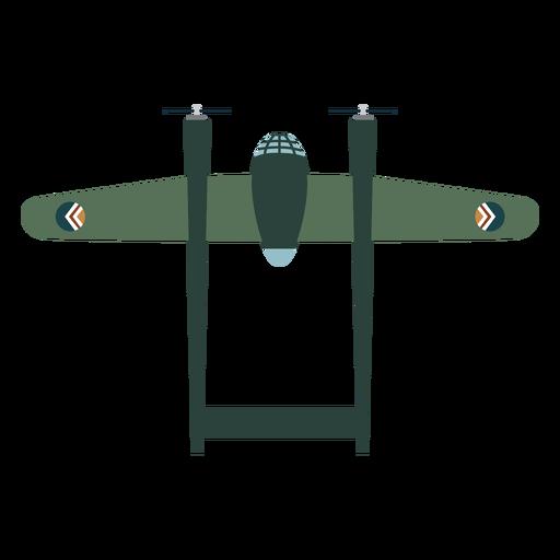 Elemento de diseño de aviones militares.