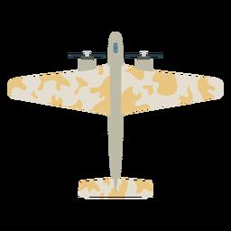 Icono plano de aviones militares
