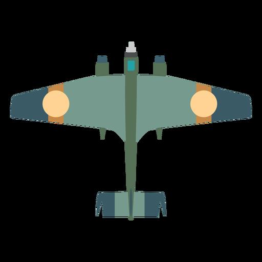 Icono de avión militar