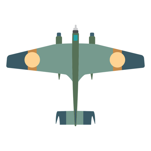 Military aircraft icon Transparent PNG