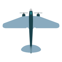 Military aircraft mockup icon