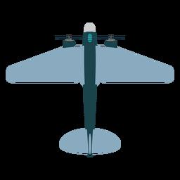 Military aircraft mockup icon