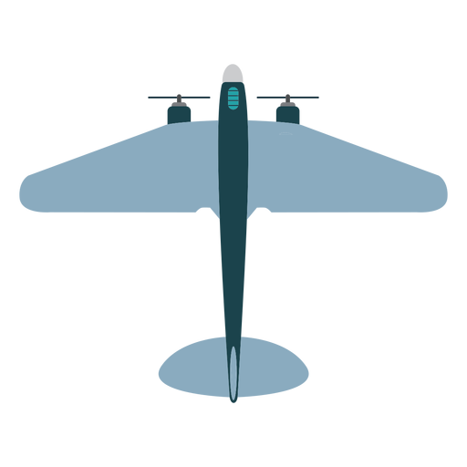 Military aircraft mockup icon Transparent PNG