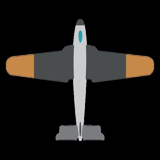Icono de avión de avión militar