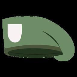 Military beret cap