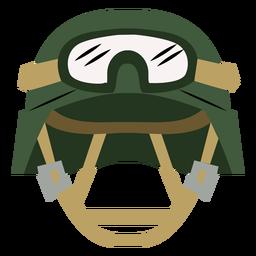 Military pilot helmet