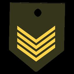 Icono de rango militar