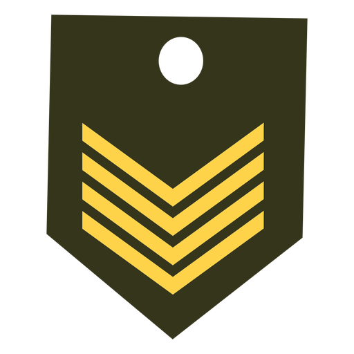 Icono de rango militar Transparent PNG