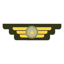 Military rank insignia icon