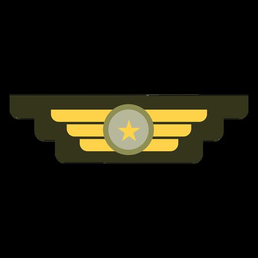 Icono de insignia de rango militar Transparent PNG