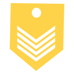 Silueta de rango militar