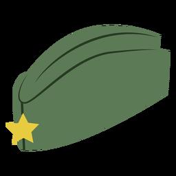 Gorra lateral militar