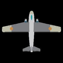 Icono de avión de combate militar