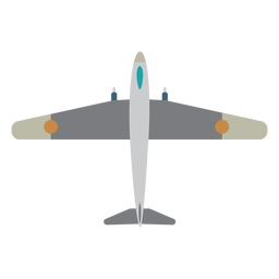 Military warplane aircraft icon