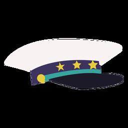 Navy peaked cap