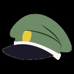 Peaked forage cap