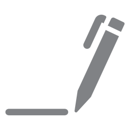 Pen drawing line flat icon