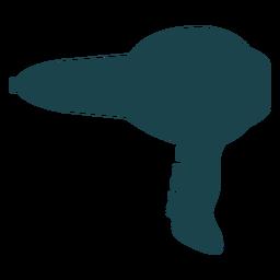 Secador de pelo profesional silueta