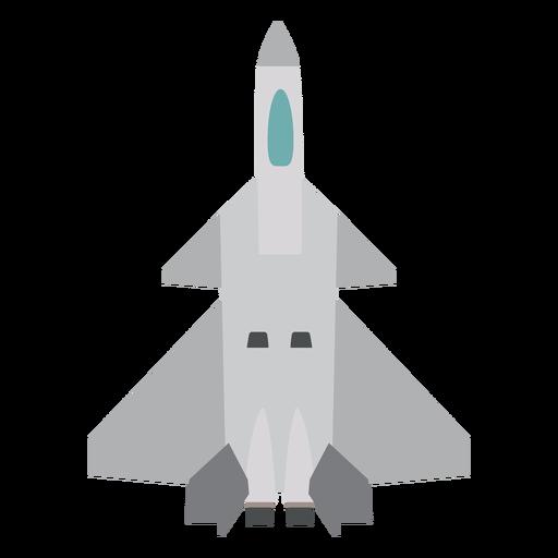 Icono de vista superior de aviones Rafale Transparent PNG