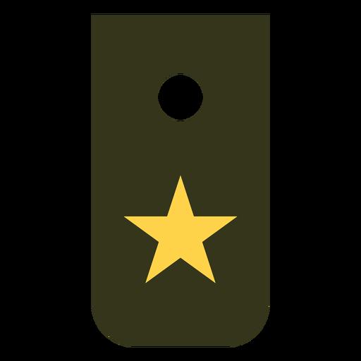 Reclutar icono de rango militar Transparent PNG