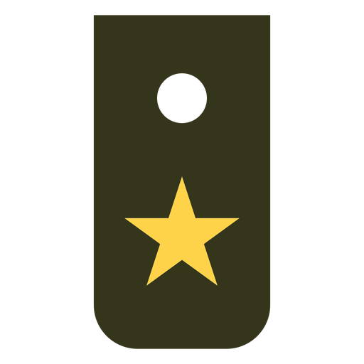 Recruit military rank icon Transparent PNG