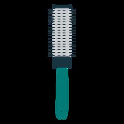 Pincel de icono de cepillo de pelo redondo