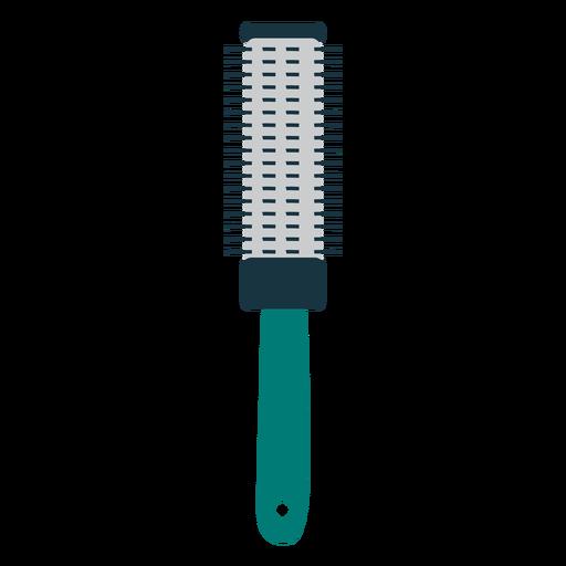 Round hair brush icon brush
