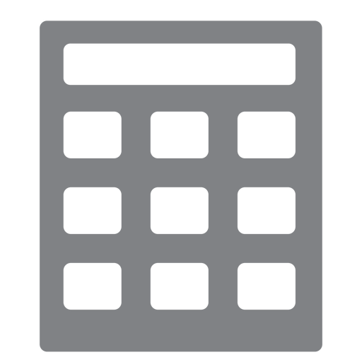 School calculator flat icon school Transparent PNG