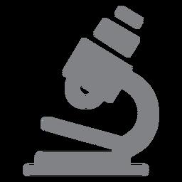 Escuela microscopio icono plana escuela