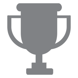 School trophy flat icon