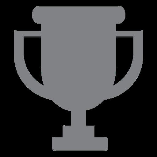 School trophy flat icon