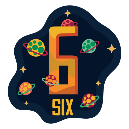 Six planets number